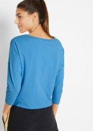 Duurzaam sportshirt, 7/8 mouw, bpc bonprix collection