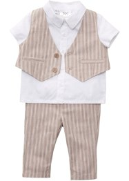 Gilet, overhemd en broek (3-dlg. set), bpc bonprix collection