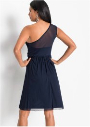 One shoulder jurk met kant, BODYFLIRT