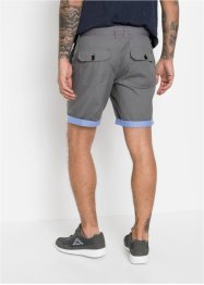 Regular fit short met structuur, RAINBOW