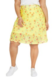 Mesh rok met bloemenprint, bpc bonprix collection