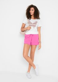 Sweat short met tunnelkoord, bpc bonprix collection