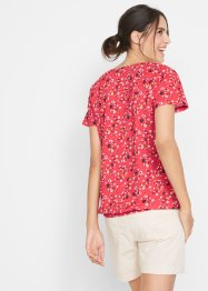 Gedessineerd shirt met knoopsluiting, bpc bonprix collection
