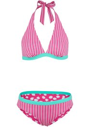 Reversibele halterbikini (2-dlg. set), bpc bonprix collection