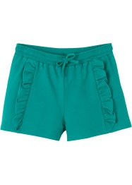 Sweat short met ruches, bpc bonprix collection