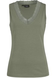 Top met gehaakte kant, bpc bonprix collection
