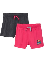 Jersey short (set van 2), bpc bonprix collection