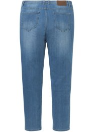 Regular fit stretch jeans met gerecycled polyester, tapered, John Baner JEANSWEAR