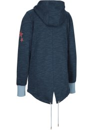 Sweatvest met capuchon, bpc bonprix collection