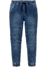 Slim fit instapjeans met thermovoering, straight, RAINBOW