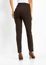 Stretch broek met studs, bpc selection