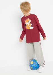 Longsleeve en sweatpants (2-dlg. set), bpc bonprix collection