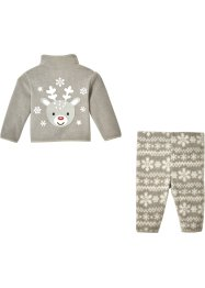 Baby fleece vest en broek (2-dlg. set), bpc bonprix collection