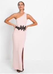 One shoulder jurk met kant, BODYFLIRT boutique