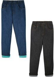 Thermojeans (set van 2), loose fit, John Baner JEANSWEAR