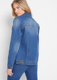 Stretch spijkerjas, basic, John Baner JEANSWEAR
