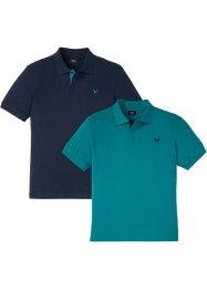 Poloshirt (set van 2), bpc bonprix collection