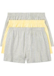 Wijde jersey boxershort (set van 3), bpc bonprix collection