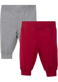 Baby shirtbroek (set van 2) biologisch katoen, bpc bonprix collection