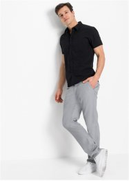 Stretch overhemd met korte mouwen, slim fit, RAINBOW