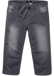 Regular fit 3/4 stretch jeans met comfort belly fit, straight, bpc bonprix collection