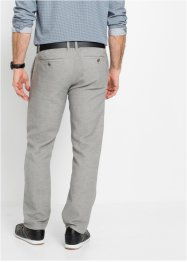 Regular fit chino met bandplooien, bpc selection