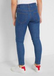 Stretch jeans met patches, John Baner JEANSWEAR