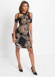 Jurk met cut-outs, BODYFLIRT boutique