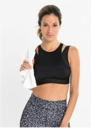 Sport bralette level 1 van gerecycled polyester, bpc bonprix collection - Nice Size