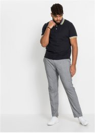 Slim fit stretch broek, tapered, RAINBOW
