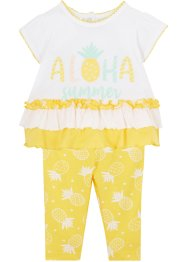 Baby T-shirt en legging (2-dlg. set) biologisch katoen, bpc bonprix collection
