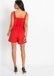 Playsuit met ruches, BODYFLIRT
