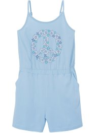 Playsuit van biologisch katoen, bpc bonprix collection
