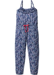Jumpsuit, bpc bonprix collection, indigo/wolwit gedessineerd