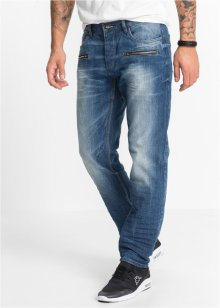 Jeans regular fit straight, RAINBOW, blue dirty