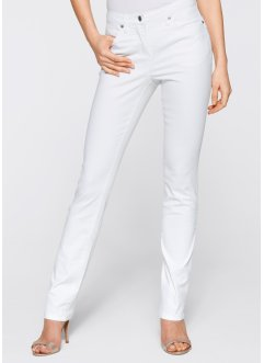 Stretchjeans, bpc selection, wit