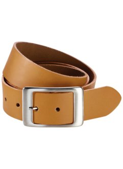 Leren riem, bpc bonprix collection, honingkleur