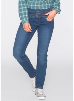 Corrigerende stretchjeans, John Baner JEANSWEAR, blauw