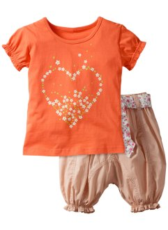 T-shirt+broek (2-dlg.), bpc bonprix collection