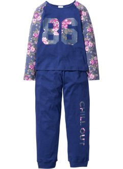 Pyjama (2-dlg. set), bpc bonprix collection, middernachtblauw