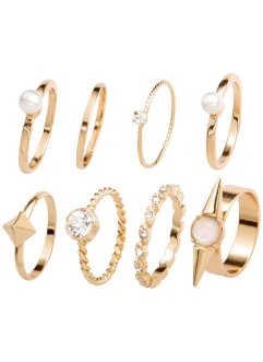 Ringen (8-dlg. set), bpc bonprix collection