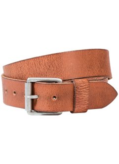 Leren riem, bpc bonprix collection, cognac