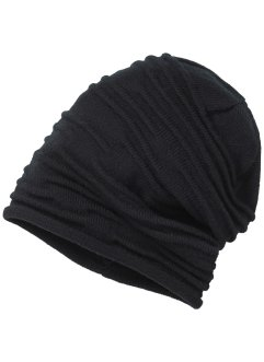 Beanie, bpc bonprix collection, zwart
