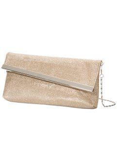 Clutch, bpc bonprix collection, lichtroodgoudkleur