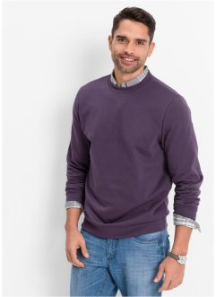 Sweatshirt, bpc bonprix collection, prune