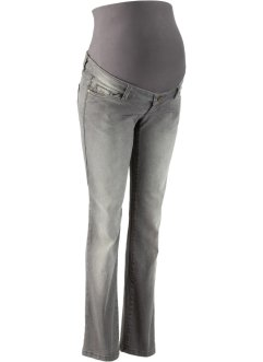 Zwangerschapsjeans, bpc bonprix collection, grey denim