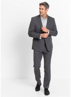 Kostuum slim fit, bpc selection, antraciet