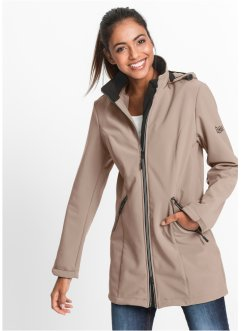 Softshell-jack, bpc bonprix collection, taupe