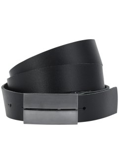 Leren riem «Andre», bpc bonprix collection, zwart