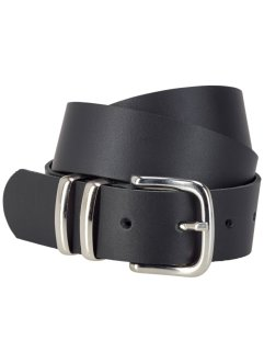 Leren riem «Dustin», bpc bonprix collection, zwart